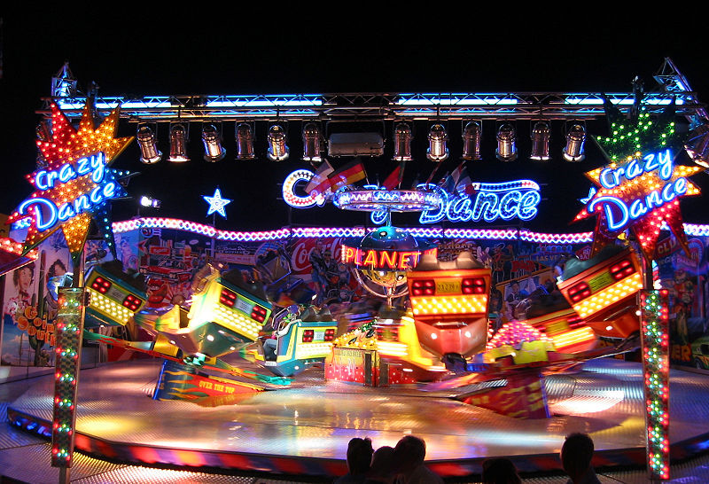 Crazy Dance Ride