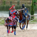 Jousting Two Knights
