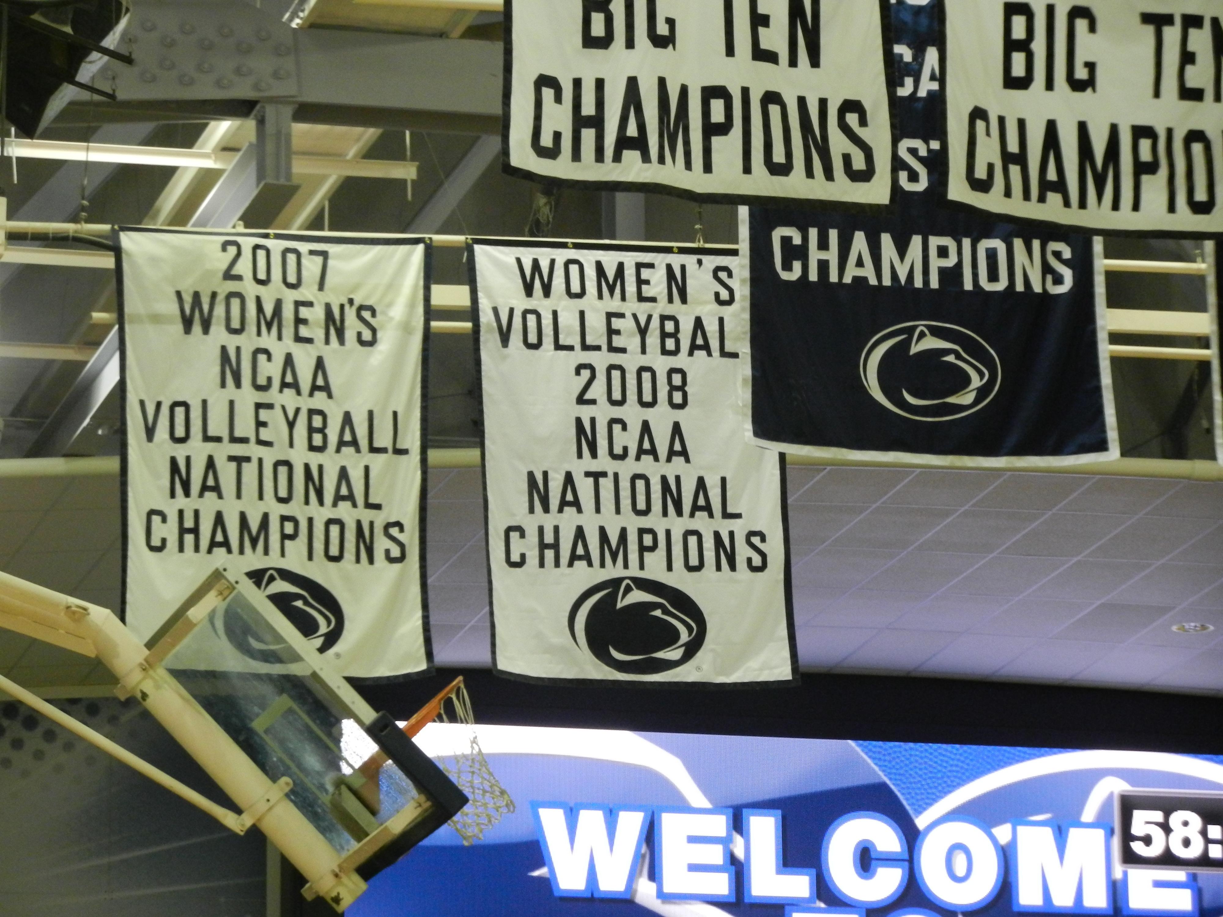 Front Row Top Shelf in PSU Win Over Wisconsin