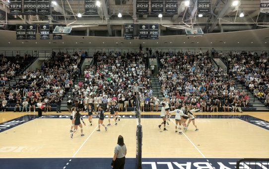 Penn State Sweeps Yale in Up and Down Match (with Post-Match Comments Coach Rose, Haleigh Washington and Kendall White)