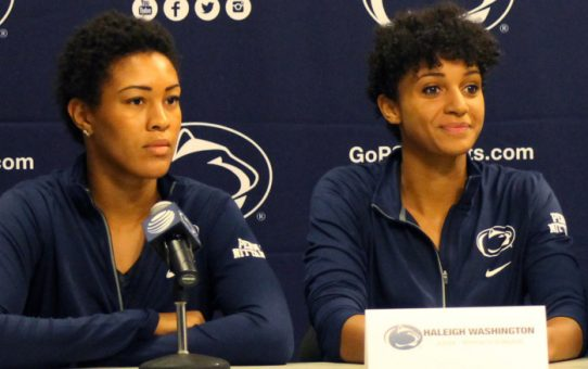 Let's Dance Part II: Pre-Tournament Quotes from Haleigh Washington & Simone Lee