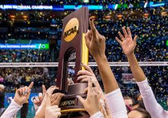 Parity? Wins & Losses (Matches and Sets) for Final Four Teams from 1998 to 2016