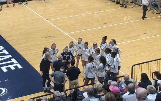 Penn State Sweeps The Aggies (with Post-Match Quotes)