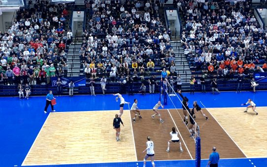 Penn State Sweeps Michigan