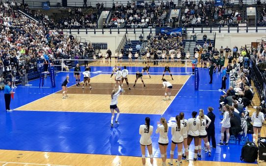 Penn State Sweeps The Spartans