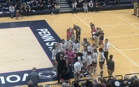 Penn State Loses To Purdue 3-2 (with Post-Match Quotes)