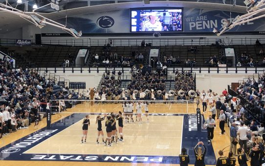 Penn State Sweeps Michigan (with Post-Match Quotes)