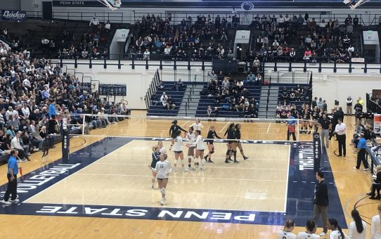 Penn State Sweeps Northwestern (with Post-Match Quotes)