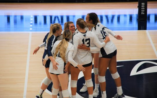 Penn State Women's Volleyball Sweeps Rutgers (with Post-Match Quotes)