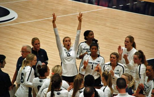 Penn State Women's Volleyball Sweeps Wichita State (with Post-Match Quotes)