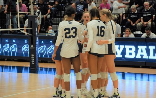 Penn State Women's Volleyball Loses To Wisconsin 3-1