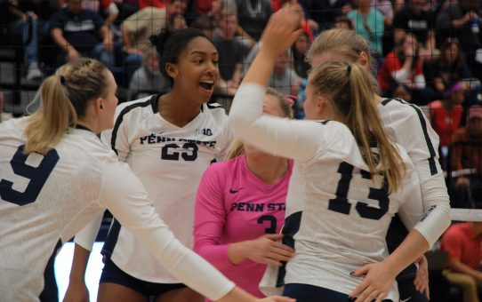 Penn State Women's Volleyball Sweeps Michigan State Again