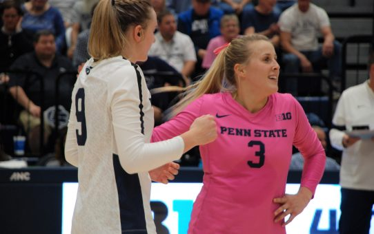 Ultra Competitor, Program 'Rock' Kendall White Makes Penn State Women's Volleyball History