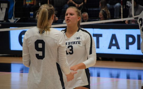 Penn State Women's Volleyball Loses To Nebraska 3-2