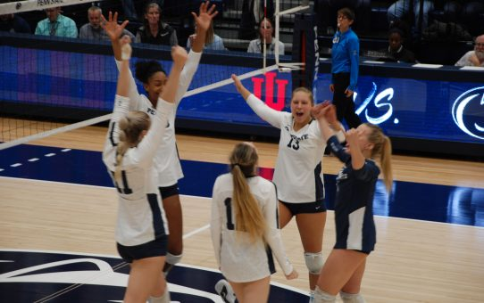 Penn State Women's Volleyball Sweeps Indiana (with Post-Match Quotes)