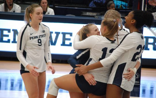 Penn State Women's Volleyball Beats Purdue 3-1 (with Post-Match Quotes)
