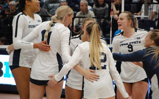 Penn State Women's Volleyball Sweeps Rutgers Again