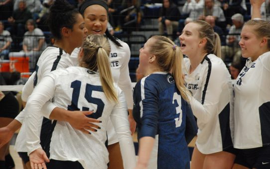 Penn State Women's Volleyball Sweeps Northwestern