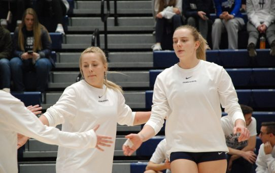 Four Penn State Women's Volleyball Players Earn All-Big Ten Recognition