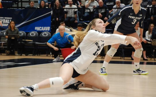 Comeback Season Showcases Keeton Holcomb's Team-First Mentality For Penn State Women's Volleyball