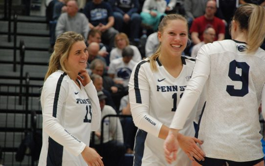 Penn State Women's Volleyball Sweeps Princeton (with Post-Match Quotes)