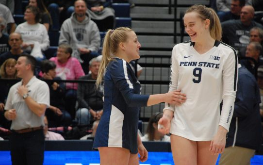 Jonni Parker Continues To Refine All-Around Skill Set For Penn State Women's Volleyball